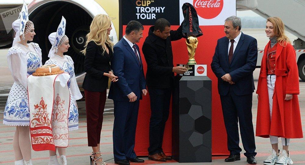 La copa del mundo regresa a Rusia tras la gira