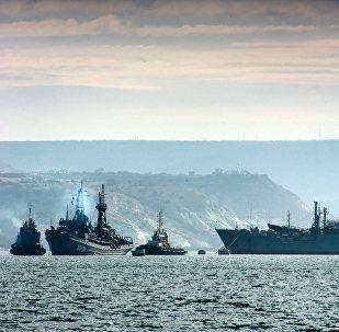 Los buques de la flota del mar Negro de Rusia (archivo)