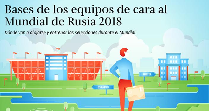 Las bases de las selecciones nacionales durante el Mundial de Rusia