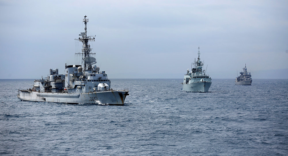 Los buques de la OTAN (archivo)