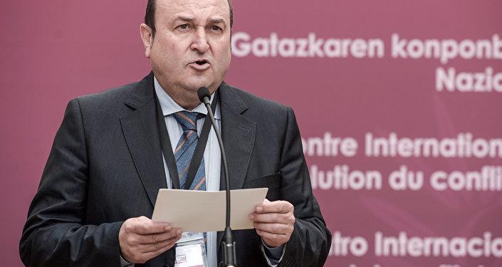 Andoni Ortuzar, el presidente del Partido Nacionalista Vasco