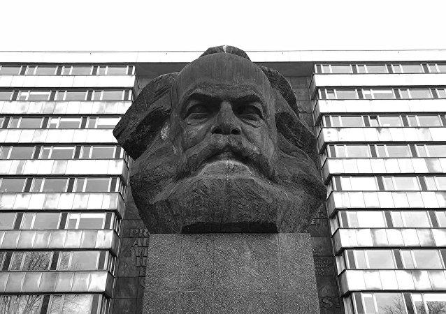 Busto de Carlos Marx