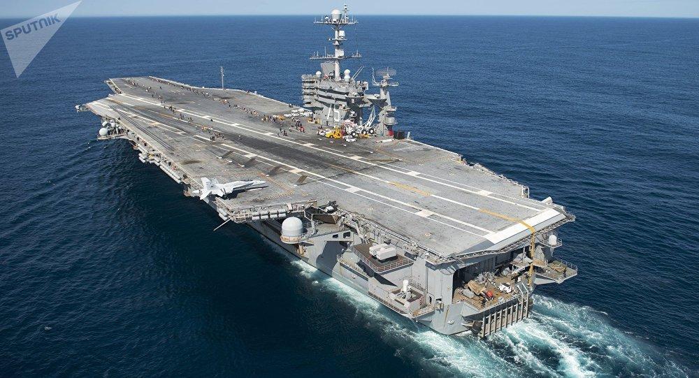 Portaviones estadounidense USS Harry S. Truman