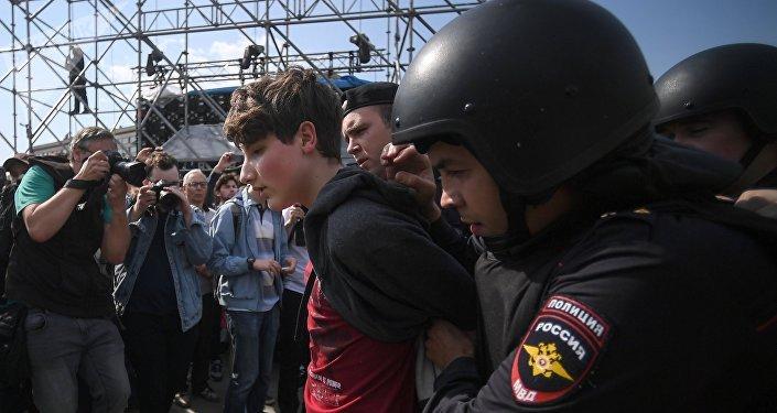 Detienen a Navalny ya más de mil opositores en Rusia