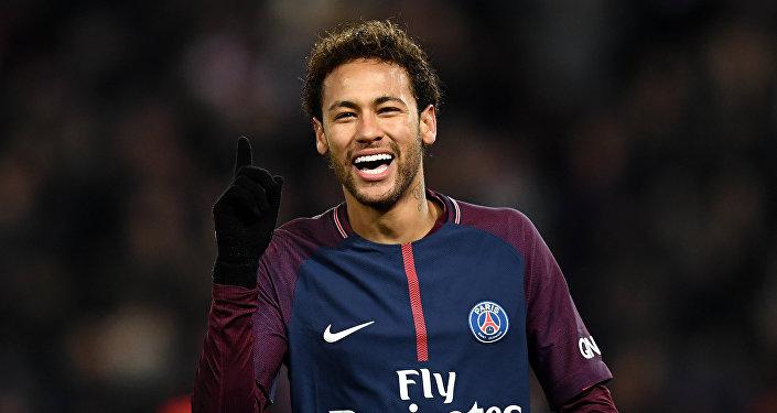 Neymar, delantero de la selección de Brasil
