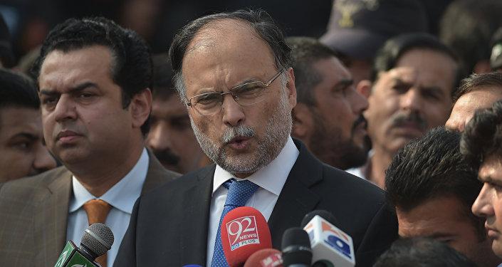 El ministro del Interior pakistaní, Ahsan Iqbal