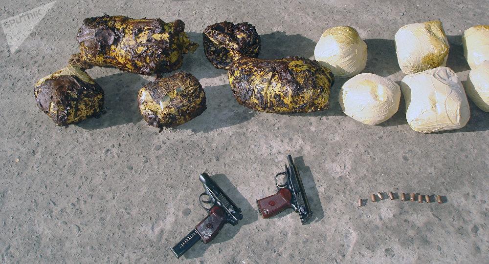 Drogas, encontradas en Afganistán