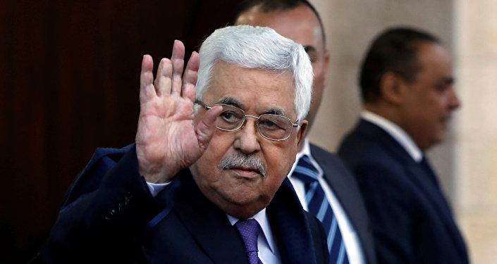 Mahmud Abás, el presidente de la Autoridad Nacional Palestina