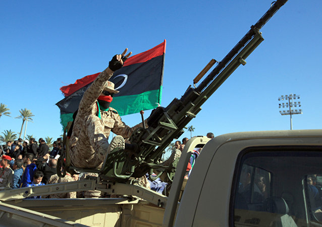 Un militar de Libia (archivo)