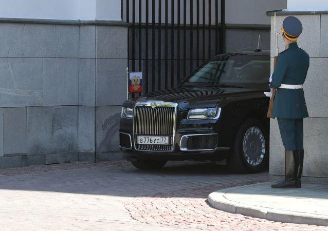La nueva limusina presidencial rusa
