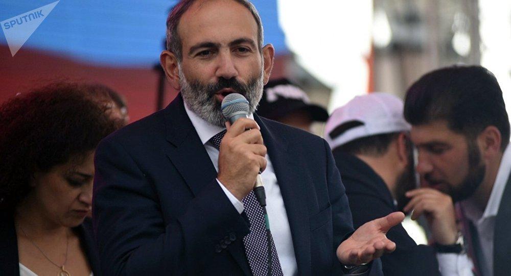 Nikol Pashinián, ex primer ministro de Armenia