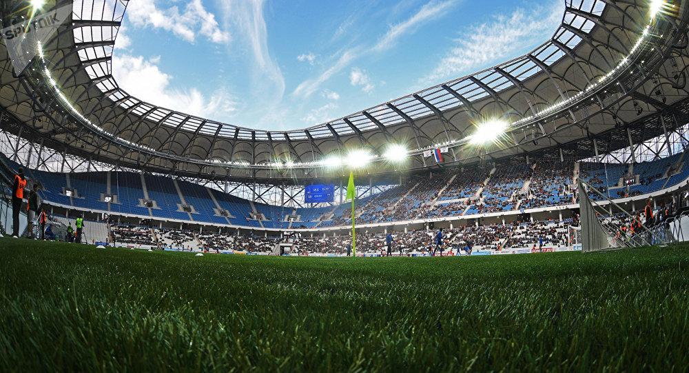 Volgograd Arena, el estadio en Volgogrado donde se celebreará el Mundial 2018, Rusia