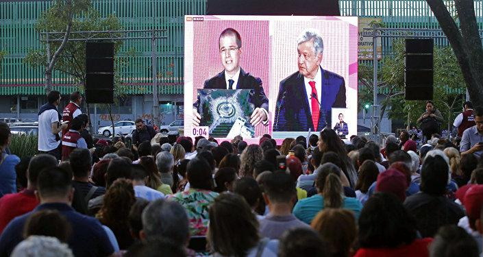 Ricardo Anaya y Andrés Manuel López Obrador, candidatos presidenciales mexicanos