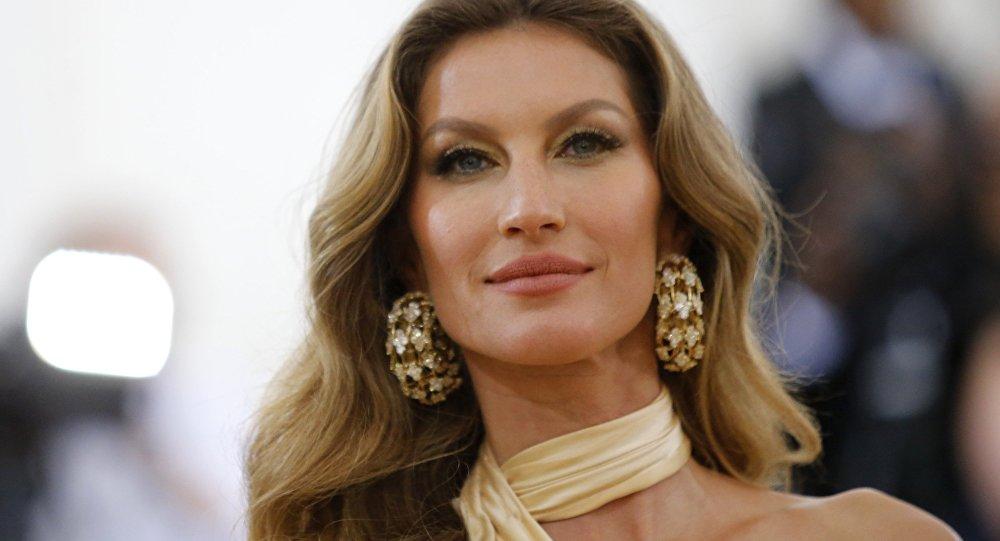 Gisele Bündchen, supermodelo brasileña