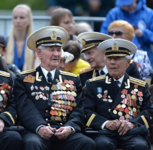 Veteranos de la Gran Guerra Patria (imagen referencial)