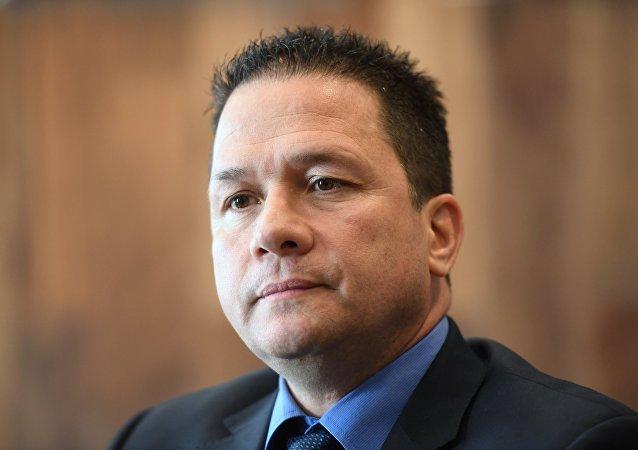 Carlos Rafael Faría Tortosa, jefe de la misión diplomática de Venezuela en la Federación de Rusia
