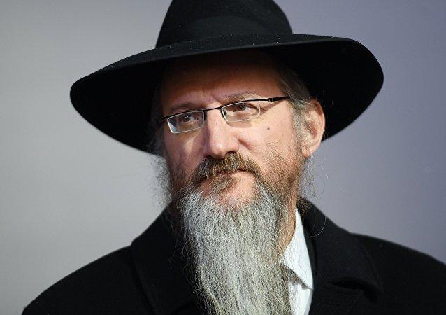 Berel Lazar, Gran Rabino de Rusia (archivo)