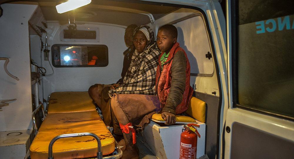 Los afectados por el colapso de la presa Patel en Kenia