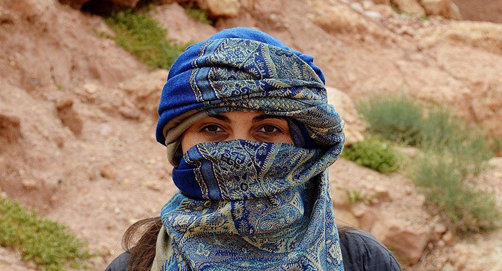 Una jóven árabe (imagen referencial)