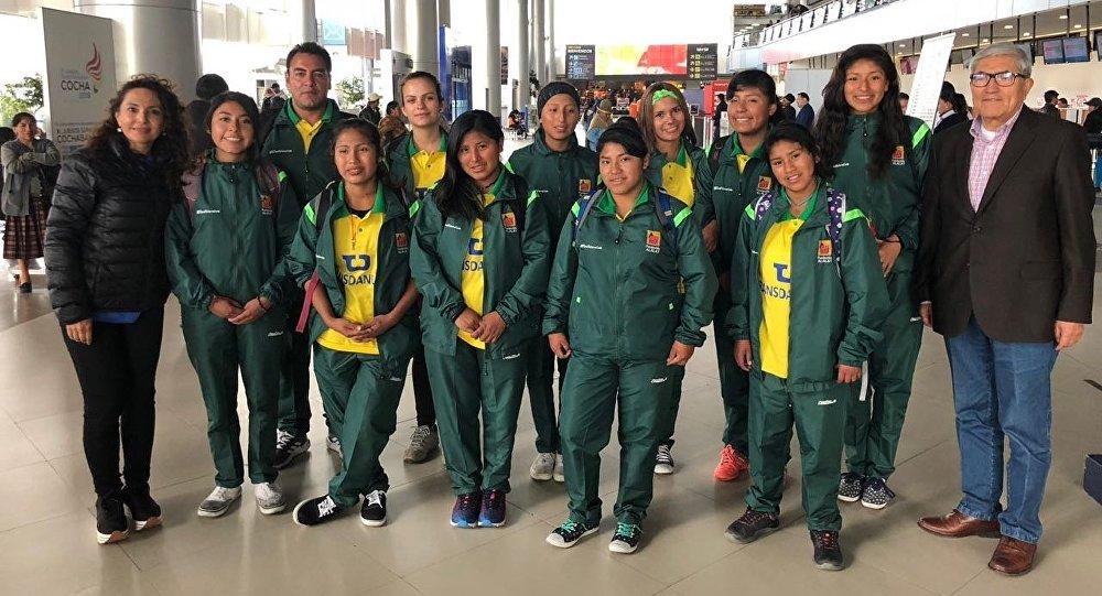 El equipo de fútbol femenino que representará a Bolivia en el torneo 'El futuro depende de ti' en Rusia