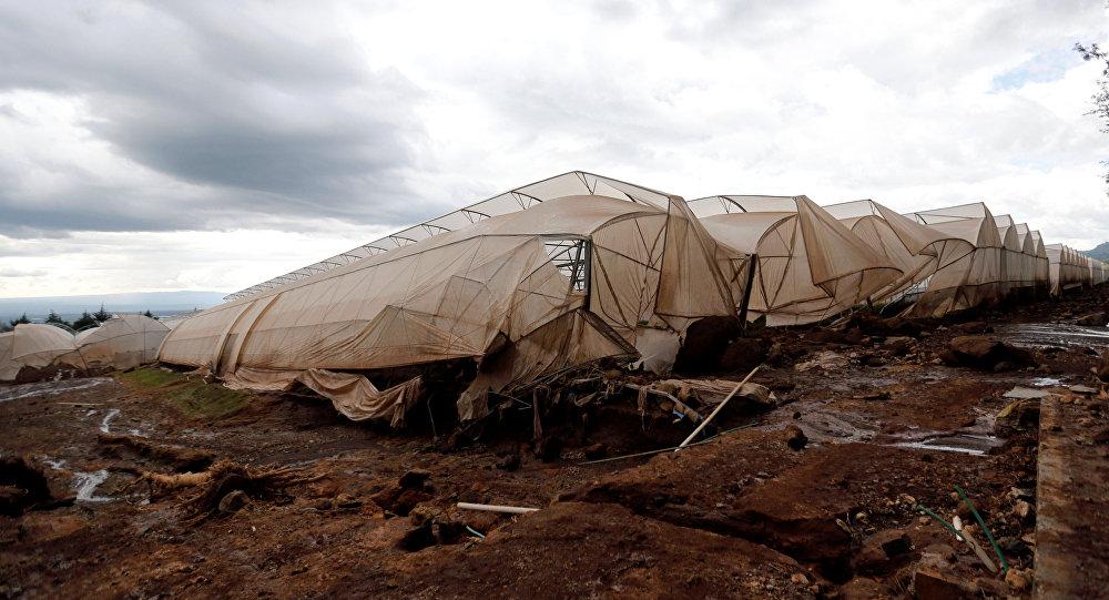 Consecuancias del colapso de una presa en Kenia