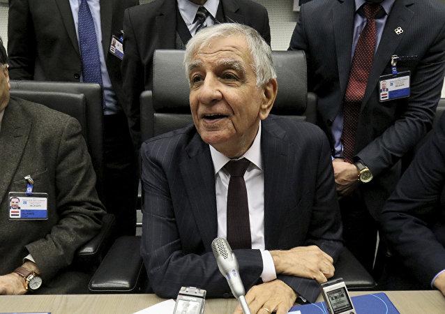 Jabar Luaibi, el ministro de Petróleo de Irak