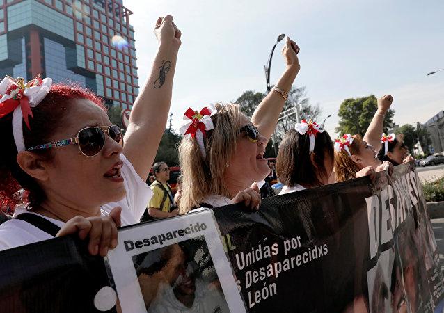 La VII Marcha de la Dignidad Nacional en Ciudad de México