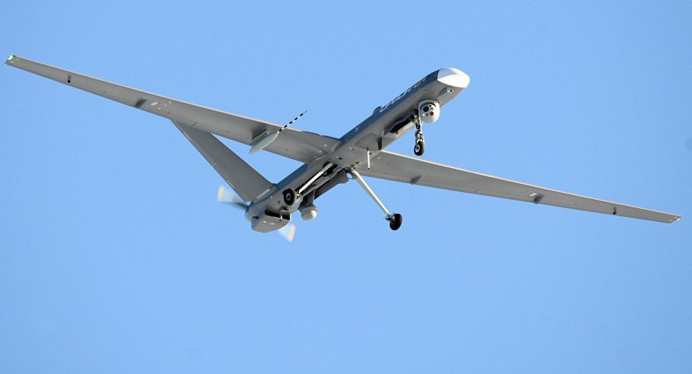 El dron de reconocimiento ruso Orion
