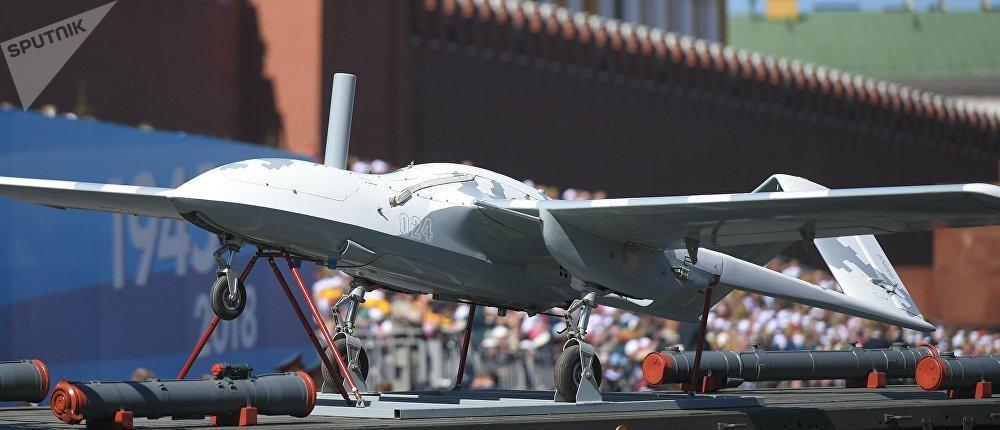 El dron ruso Korsar presentado en el Desfile de la Victoria en Moscú