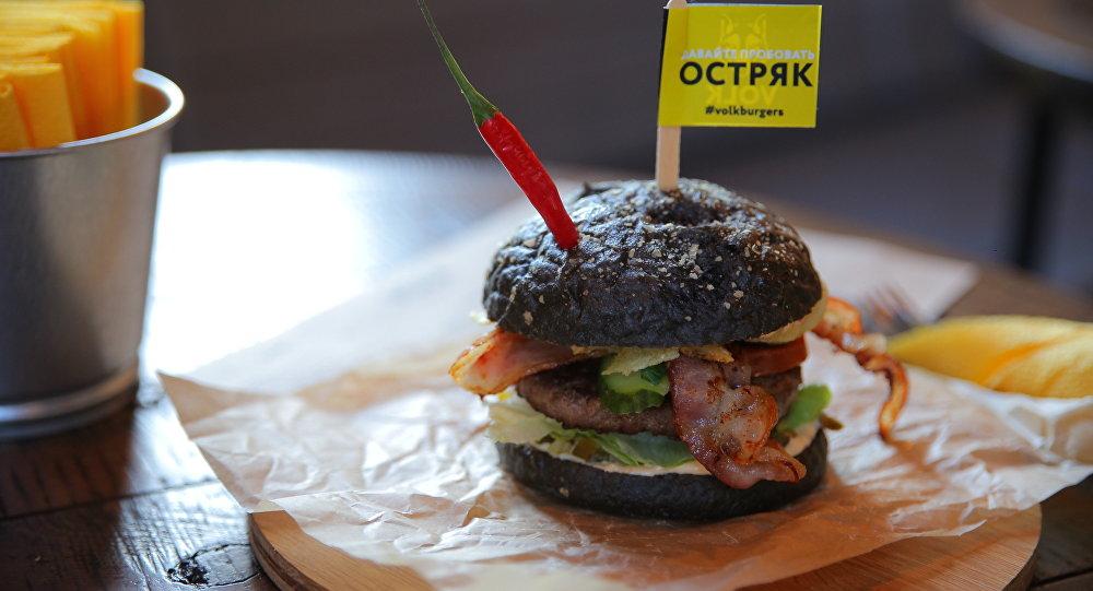 Hamburguesa en VOLK burgers