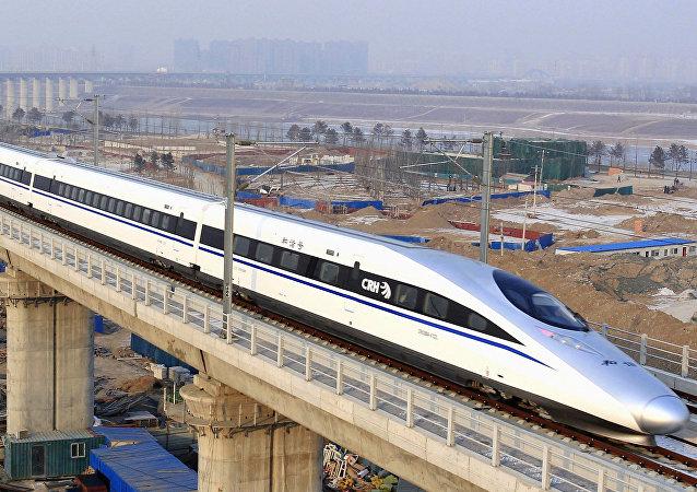 Un tren bala en China (imagen referencial)