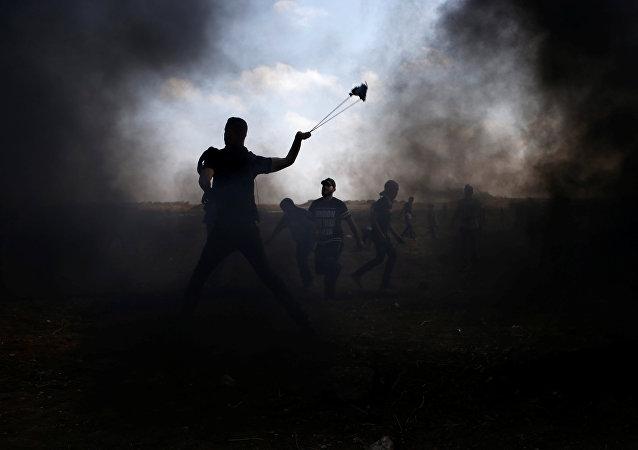 Las protestas en Gaza