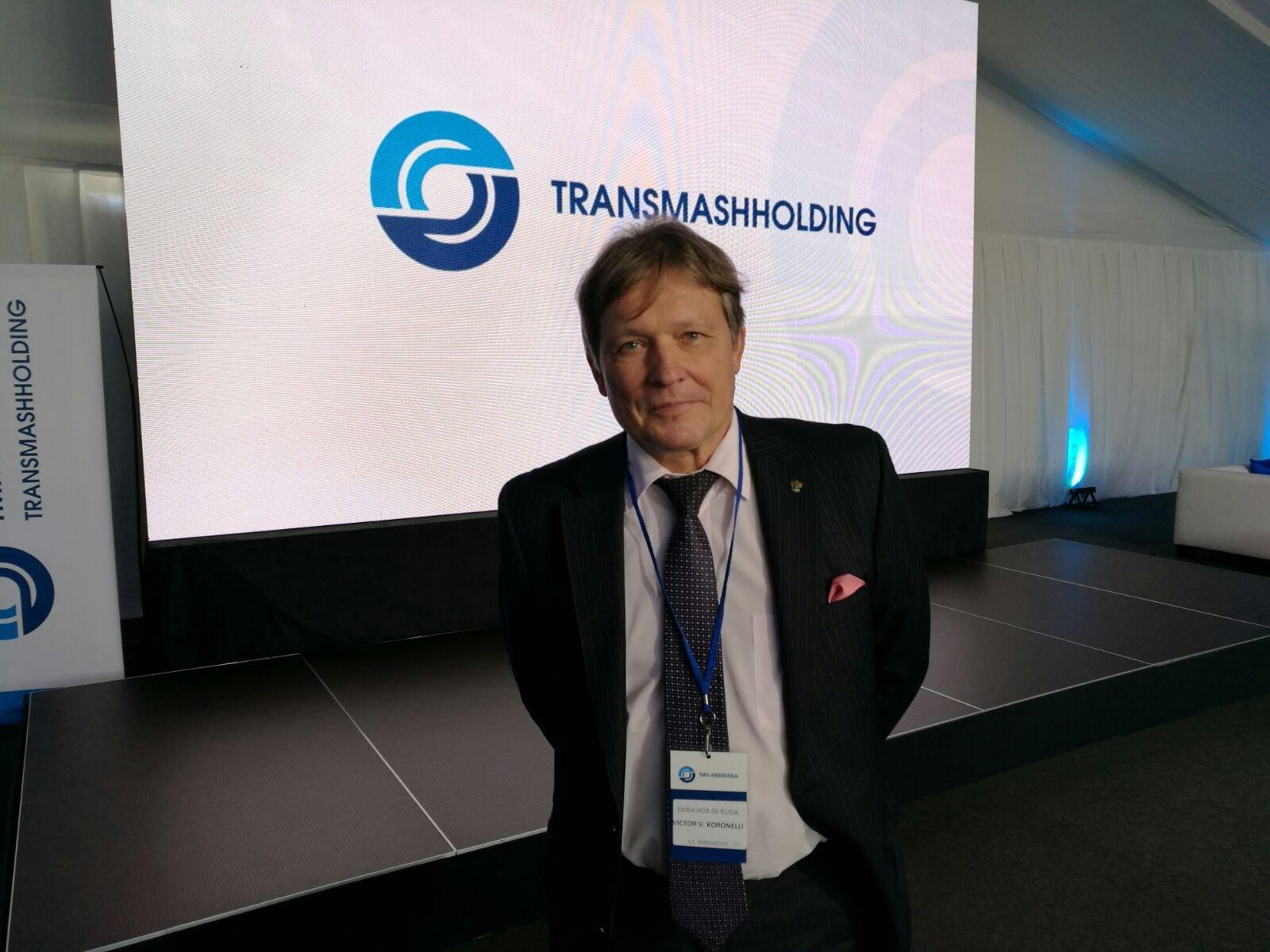 Viktor Koronelli, embajador de Rusia en Argentina