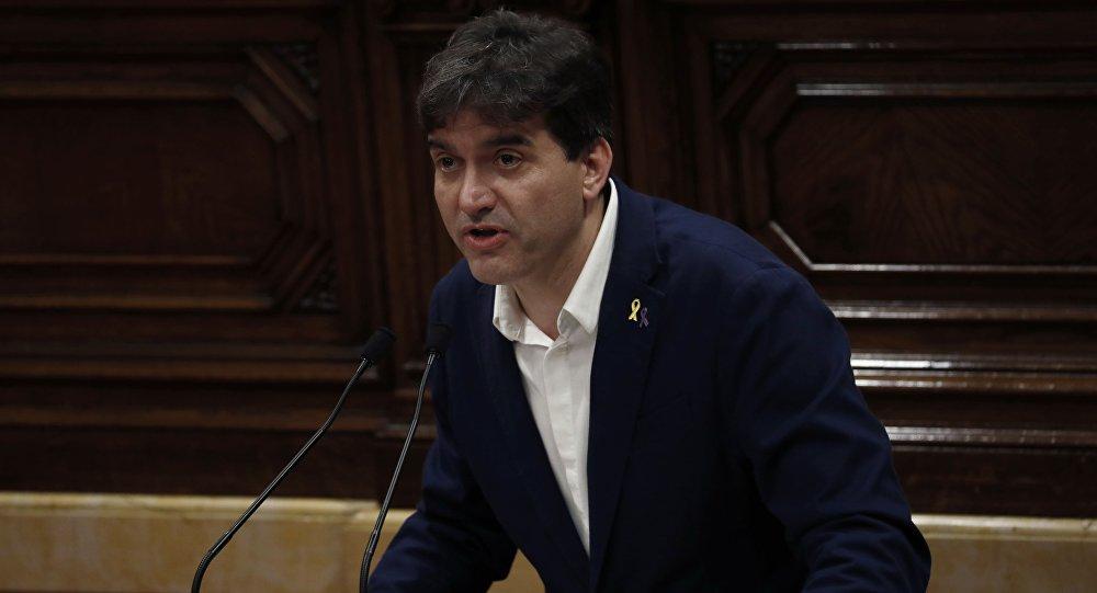 El portavoz de Esquerra Republicana de Catalunya (ERC), Sergi Sabrià