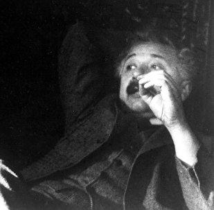 Albert Einstein y Niels Bohr en 1925