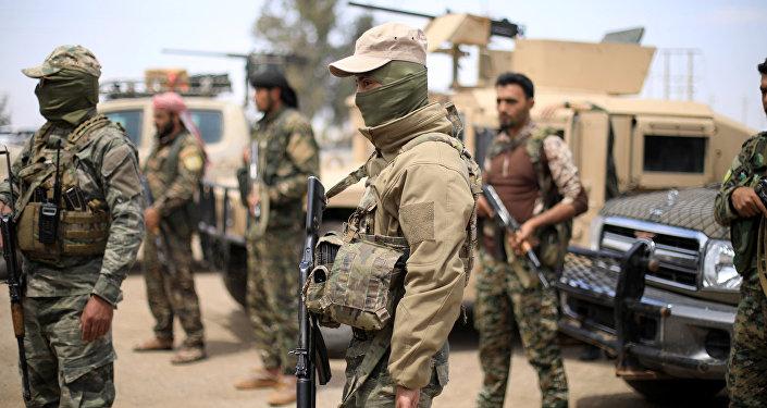 Combatientes de la oposición siria