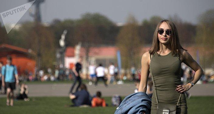 Una joven rusa