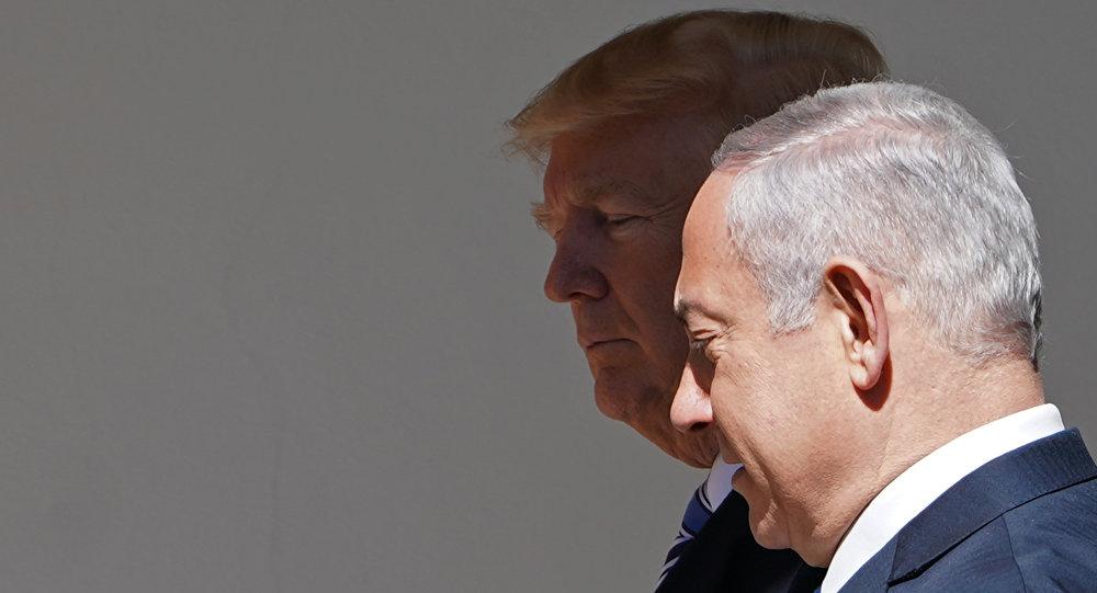 Donald Trump y Benjamín Netanyahu
