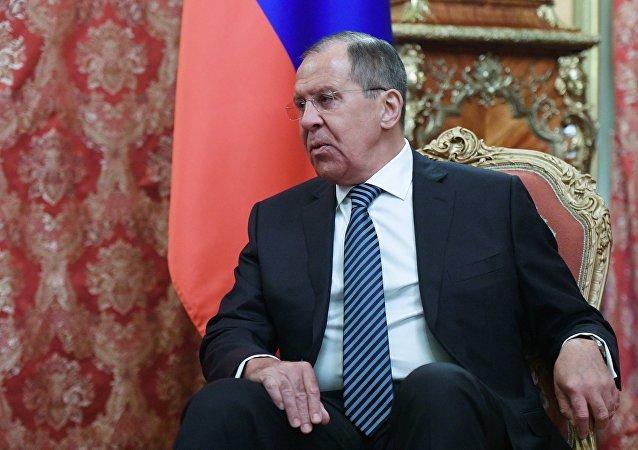 Serguéi Lavrov, el ministro de Asuntos Exteriores de Rusia en funciones