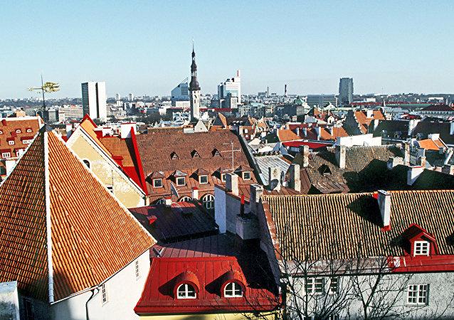 Tallin, la capital de Estonia