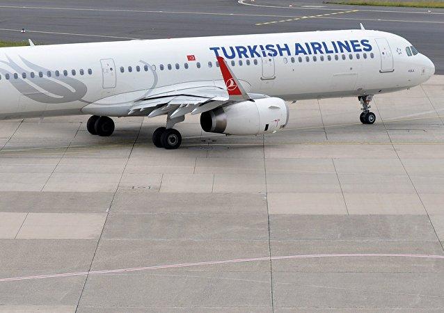 Un A321 de Turkish Airlines