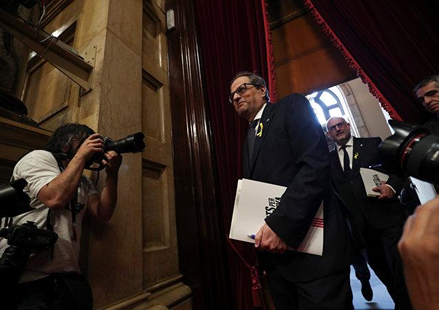 Quim Torra, el candidato a la Presidencia del Gobierno catalán