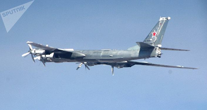 Portamisiles estratégico ruso Tu-95MS (foto referencial)