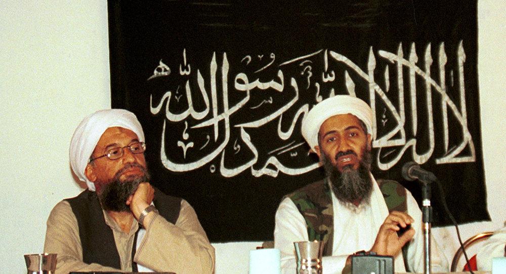 Ayman Zawahiri y Osama bin Laden