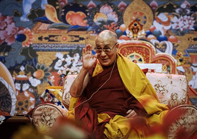 Líder espiritual de los budistas, Dalái Lama XIV