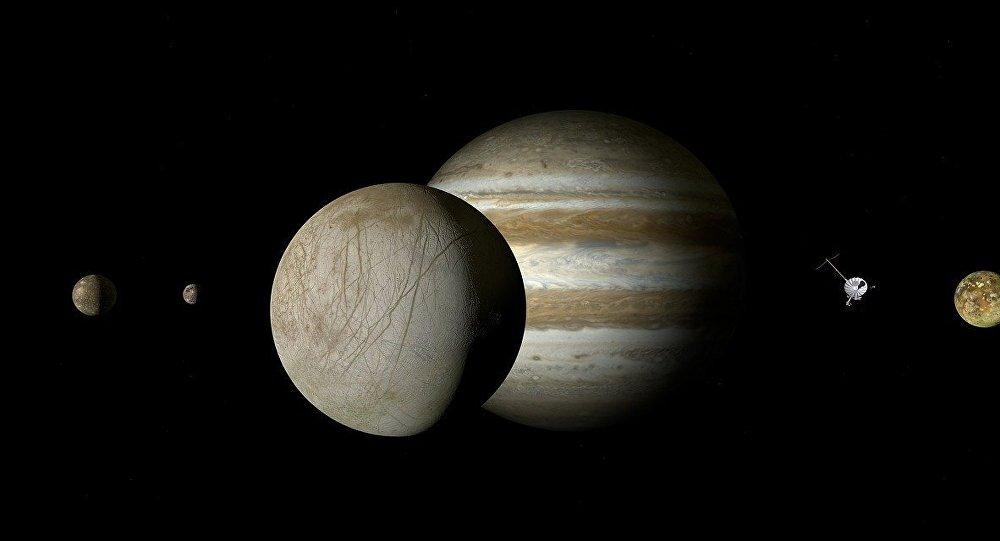 Europa, una luna de Júpiter