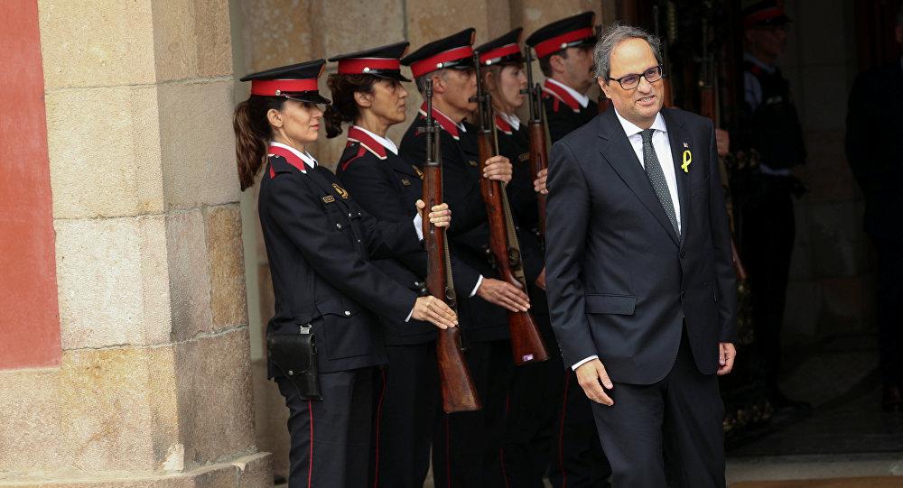 Quim Torra, nuevo presidente de la Generalitat de Cataluña