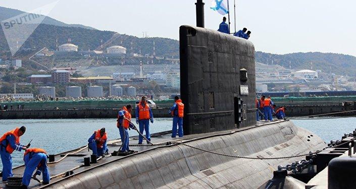 Submarino ruso de la clase Varshavyanka