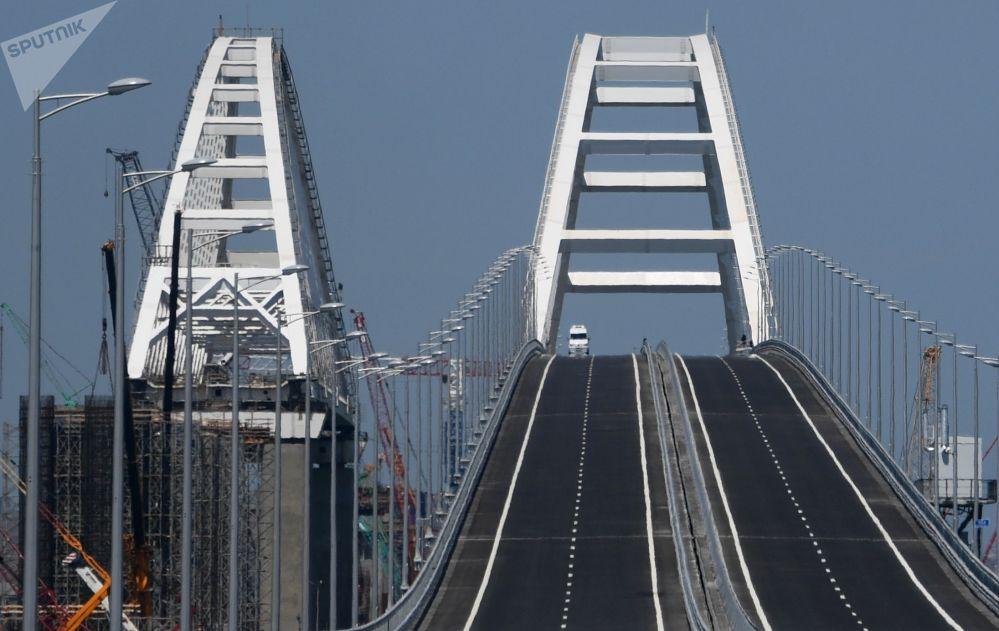 El día que muchos esperaban: inauguran el puente de Crimea