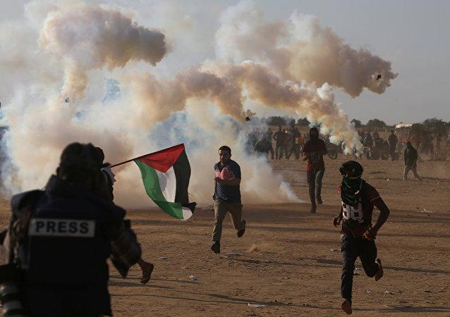 Situación en la Franja de Gaza